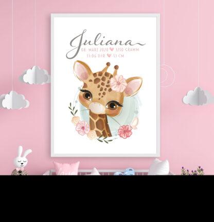 Geburtsdaten,Poster,Print,Mädchen