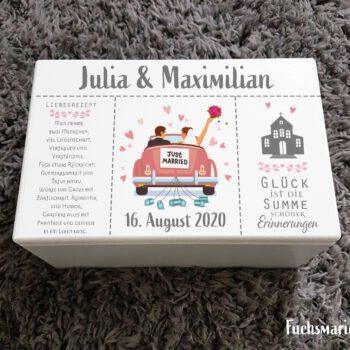 Erinnerungsbox,Hochzeit,persönlich