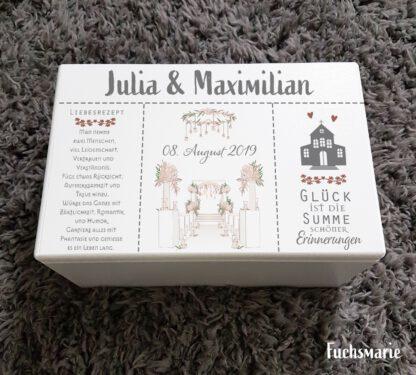 Holzbox,Hochzeit,Individuell